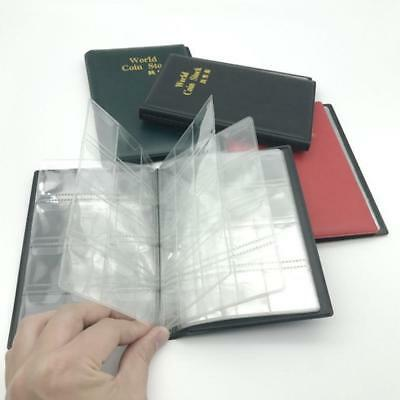 120 Pockets Paper Money Album Collection Book Holder Album Mini Books Container