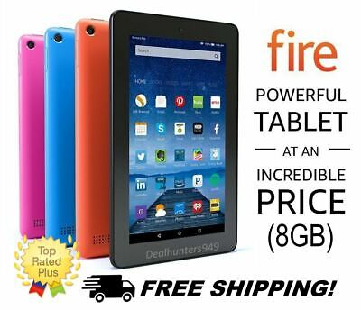 """Amazon Fire 7 HD Tablet Kindle with Alexa 7"""" Display, 8 GB, Black Special Offers"""
