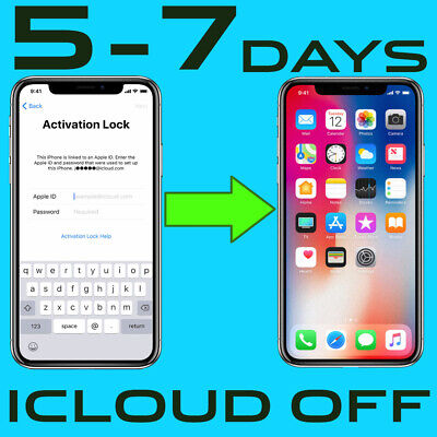 iCloud unlock removal FMI OFF service iPhone 6S, iPhone 7  Activation Lock OFF