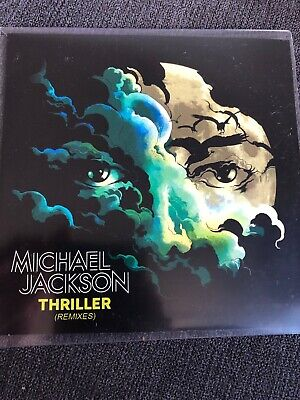 "Michael Jackson ""Thriller"" Rare 5 X Remix Cd Promo"