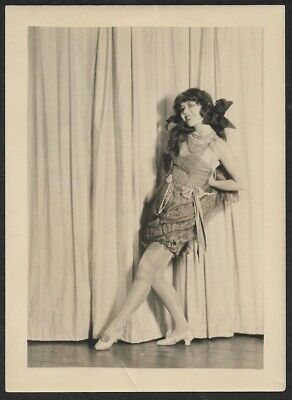 ZIEGFELD FOLLIES DANCER Ann Pennington Leg Show Charles Sheldon 1920s  Photograph