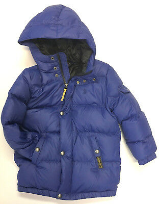 7575eee27 Polo RALPH LAUREN Boys Jacket Sz 5 Kids Down Fill Puffer Coat NEW