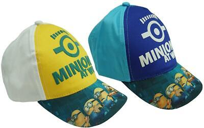 c210aed2b LOT OF 2 Baseball Caps Hat Minion Despicable Me Christmas Cap Hats ...