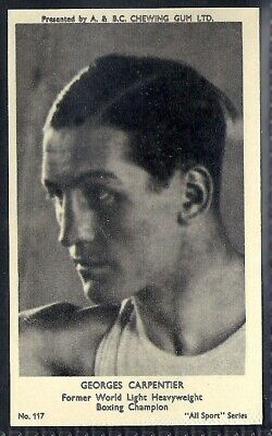 A&Bc-All Sports (M120)-#117- Boxing - Georges Carpentier