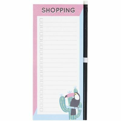 Otto Tropical Shopping List with Pencil