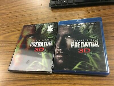 Predator New Blu-ray 3D With DVD Widescreen Subtitled 2 Pack, Ac-3/Dolby SEALED