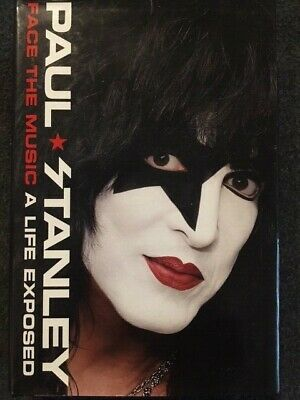 Face the Music Paul Stanley SIGNED AUTOGRAPHED Hardcover 2014 Kiss FIRST EDITION