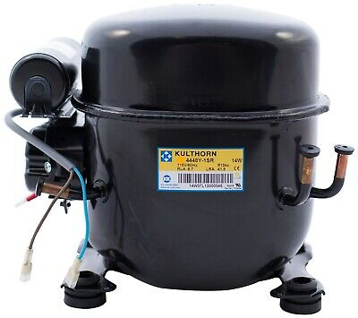 Tecumseh AEA4448YXA Replacement Comp.-1/3HP-115V-60Hz-1Ph-HBP-R134a-4,968 BTU's