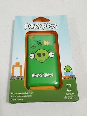 Gear4 Angry Birds Hard Shell Clip-On Case Cover For Ipod Touch 4G - Green King