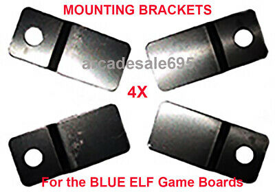 """4X MOUNTING BRACKETS for the """"BLUE ELF"""" JAMMA Arcade Game Boards US SELLER"""