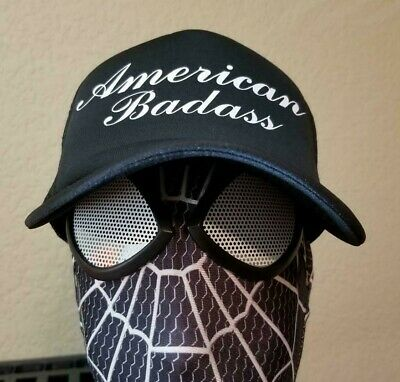284d67a8 Kid Rock American Badass Fish Fry Chillin the Most Trucker Cap Hat 4th of  July