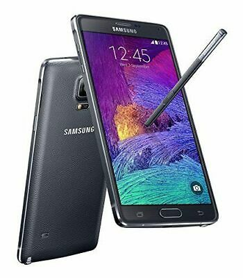 Samsung Galaxy Note 4 SM-N910 32Gb  Gsm Unlocked Charcoal Black Excellent 9/10