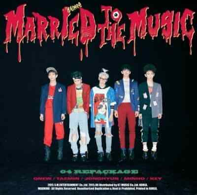 [US SHIPPING] SHINEE-[MARRIED TO THE MUSIC] Vol.4 4th Album Repackage CD+Booklet