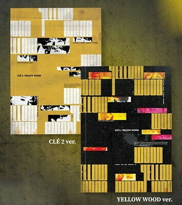 Stray Kids[Cle 2:Yellow Wood]Normal Cle 2 CD+Poster+Book+Card+etc+PreOrder+Gift