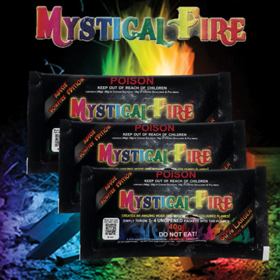 Mystical Fire 3 Pack Aussie Bonfire 40g Campfire Colourful Flames