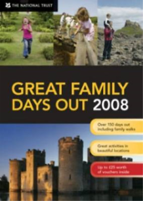 Great Family Days Out 2008 (National Trust), National Trust, Used; Good Book