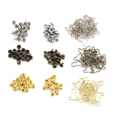 20pcs Doll Clothes DIY Metal Buckle Mini 9mm fit for 1/6 B Doll Accessories GN
