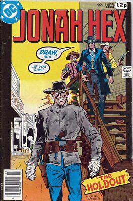 Jonah Hex (Vol 1) #  11 Very Good (VG) Price VARIANT DC Comics BRONZE AGE