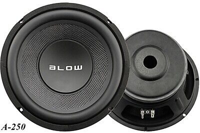 Blow Tieftöner Bass A-250-4, 4 Ohm, 258mm, 400Wmax, 93dB/W