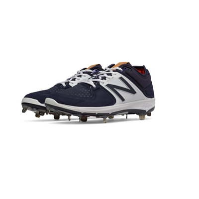 New Balance Low Cut Metal Cleat L3000v3 - Navy/White