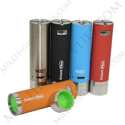 NEW Authentic Evolve Plus Battery Replacement Built in Silicone Jar *USA SELLER*