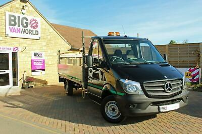 2015 Mercedes Sprinter 313 Cdi 129 Lwb Alloy Dropside With Tail Lift Dropside Di