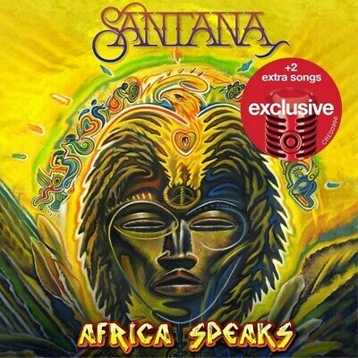 SANTANA Africa Speaks LIMITED ED EXPANDED TARGET CD 2 EXTRA TRACKS Carlos SEALED