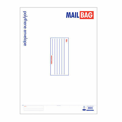 County Stationery Polythene Envelope Mail Bags (Pack Of 25) (SG8915)