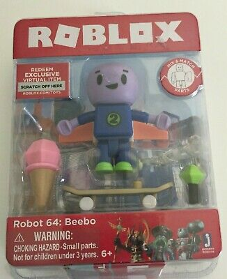 SUN SLAYER NEW BEEBO ROBOT 64 ROBLOX CORE//CELEBRITY ACTION FIGURE ANUBUS