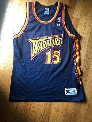 1ef8f2ce79f Vintage Golden State Warriors Champion Jersey Size 44 Latrell Sprewell #15  EUC