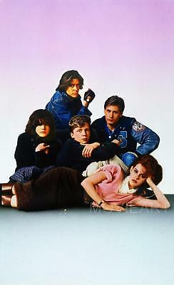 The Breakfast Club Textless Movie Poster Film A4 A3 Art Print Cinema