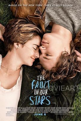 The Fault In Our Stars Movie Poster Film A4 A3 Art Print Cinema