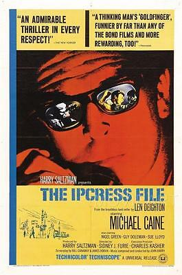 The Ipcress File Vintage Movie Poster Film A4 A3 Art Print Cinema