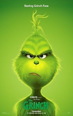 The Grinch Poster A4 A3 A2 A1 Cinema Movie Large Format