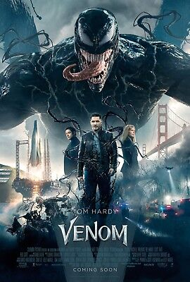 Venom Marvel Tom Hardy Poster A4 A3 A2 A1 Cinema Movie Large Format #2