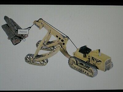 Woodland Scenics D246 HO-Scale KIT Bulldozer Tractor w// Logging Cruiser