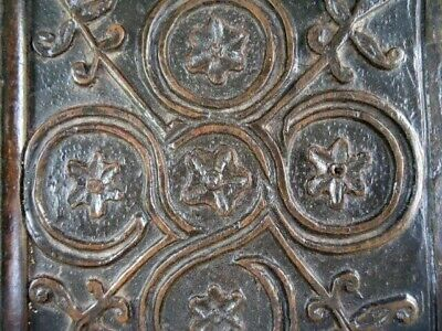 17Th Century Oak Carved  Intricate  Panel
