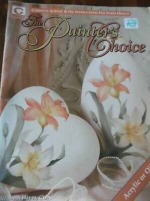 Decorative Painting Book Patterns Painter's Choice Acrylic Oil Fall Splendor