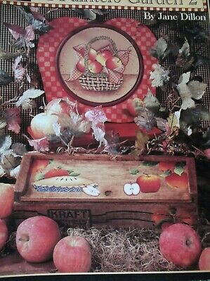 A Painters Garden 2 Decorative Painting Book Jane Dillon Cardinals Strawberries