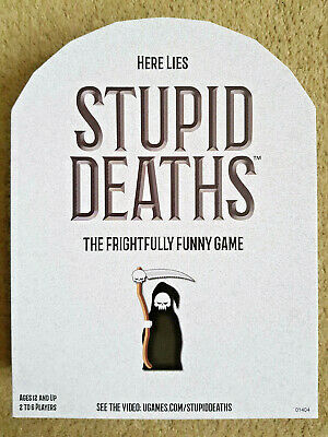 STUPID DEATHS PARTY Game FREE SHIPPING - $17 91   PicClick