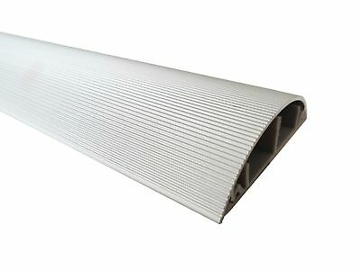 Aluminum Floor Cable Channel 1m Self-Adhesive 70mm Wide