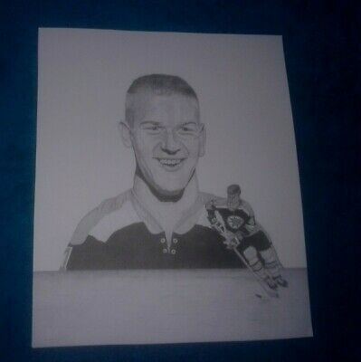 "Vintage NHL Hockey Stars B/W Portrait Photo Prints 10x12"" Orr Gretzky Beliveau"