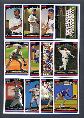 2006 Topps Chicago Cubs TEAM SET w/ Update