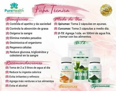 Kit D-tox Pure Health reforzado