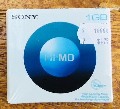 Sony 1gb Hi-MD Mini Disc Media Brand New and sealed ** Free Same Day Dispatch**