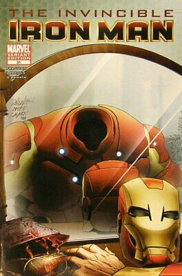 Invincible Iron Man (Vol 1) #31 Presque Neuf (NM) 1 en 15 Variante Marvel Comics