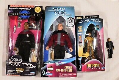 Star Trek Playmates Action Figures Ensign Pavel Chekov & Cpt. Picard 9""