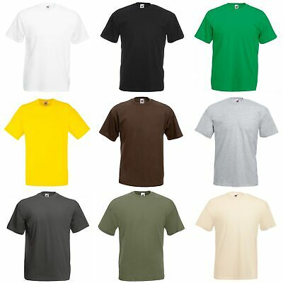 T-shirt à manches courtes Fruit Of The Loom, 100% coton, pour homme (BC330)