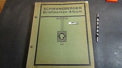 WW stamp collection in Schwaneberger album w/500 stamps or so to '34