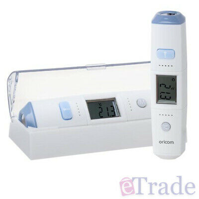 NEW Oricom Infrared Forehead Thermometer Body Room Surface Temperature Detection